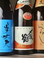 日本酒でどうぞ